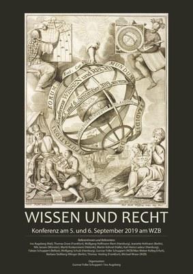 Wissen und Recht - Plakat
